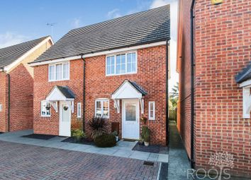 Thumbnail 2 bedroom semi-detached house for sale in Artillery Drive, Thatcham