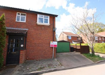 Thumbnail 3 bed end terrace house for sale in Clover Mead, Taunton
