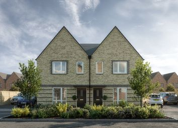 Thumbnail 3 bed semi-detached house for sale in Mistle Thrush Drive, Cambridge