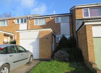Thumbnail 3 bed town house for sale in Sonning Way, Glen Parva, Leicester