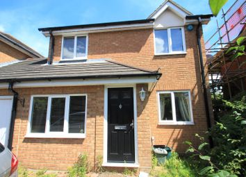 Thumbnail 3 bed link-detached house to rent in Wryneck Close, Colchester