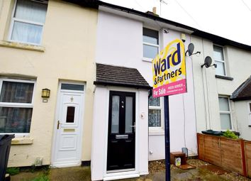 Thumbnail 2 bed terraced house for sale in Whitfeld Road, Ashford, Kent