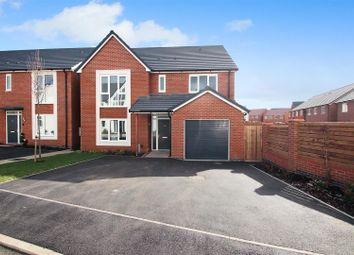Thumbnail 5 bed detached house for sale in James Littler Close, Trentham Lakes, Stoke-On-Trent