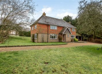 Thumbnail 4 bed detached house for sale in Bowling Alley, Crondall, Farnham, Surrey