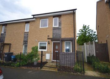 Thumbnail 2 bedroom terraced house for sale in Bradlaugh Crescent, Northampton