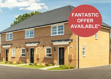 """Thumbnail 3 bedroom terraced house for sale in """"Barton"""" at Tiber Road, North Hykeham, Lincoln"""