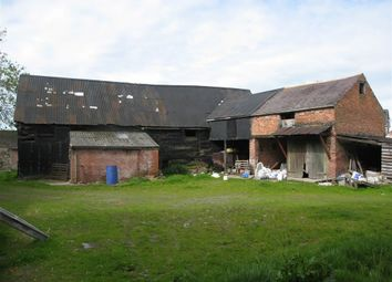 Thumbnail Barn conversion for sale in Wern Farm, Wern, Welshpool