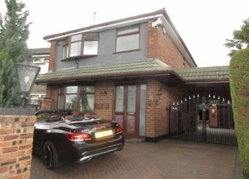 Thumbnail 3 bed detached house for sale in Tybyrne Close, Worsley, Manchester