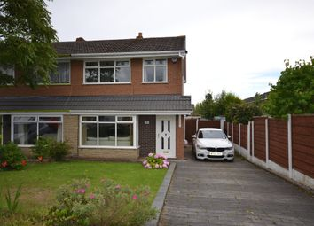 Thumbnail 3 bed semi-detached house for sale in Rydal Close, Astley, Tyldesley, Manchester