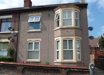 Thumbnail 2 bed flat to rent in Cumberland Road, New Brighton, Wallasey