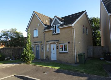 Thumbnail 2 bedroom semi-detached house for sale in Willowbrook Gardens, St. Mellons, Cardiff