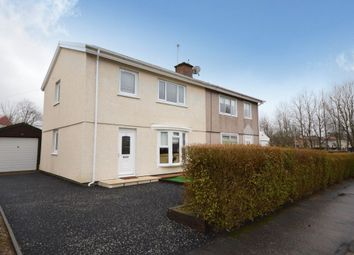 Thumbnail 3 bed semi-detached house for sale in 18 Ryemount Road, Barmulloch, Glasgow