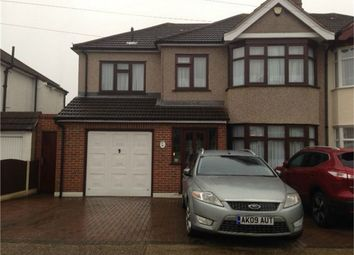 Thumbnail 4 bed semi-detached house for sale in Heather Way, Romford, Essex