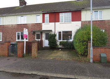 Thumbnail 3 bedroom terraced house for sale in Chaucer Road, Great Yarmouth