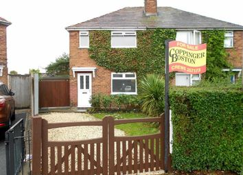 Thumbnail 3 bed semi-detached house for sale in Frank Bott Avenue, Crewe, Cheshire