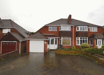 Thumbnail 3 bed semi-detached house for sale in The Greenway, Sutton Coldfield