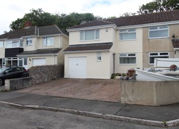 Thumbnail 4 bed semi-detached house for sale in The Green, Hooe, Plymouth.