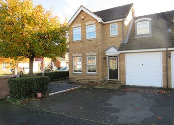Thumbnail 4 bed semi-detached house for sale in Wraysbury Close, Leagrave, Luton