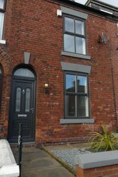 Thumbnail 2 bed terraced house to rent in Hyde Road, Denton, Manchester