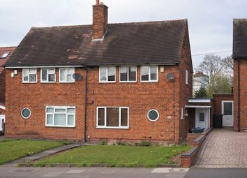 Thumbnail 2 bed semi-detached house for sale in Bordesley Green East, Stechford, Birmingham