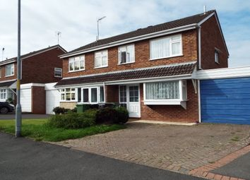 Thumbnail 3 bed property to rent in Cheswick Close, Redditch