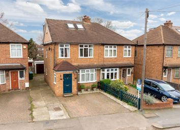 Thumbnail 4 bed semi-detached house for sale in Cottimore Lane, Walton-On-Thames