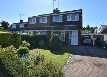 Thumbnail 3 bed semi-detached house for sale in Chestnut Road, Loggerheads, Market Drayton