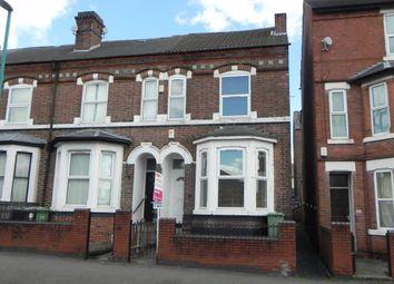 Thumbnail 3 bed terraced house to rent in Noel Street, Nottingham