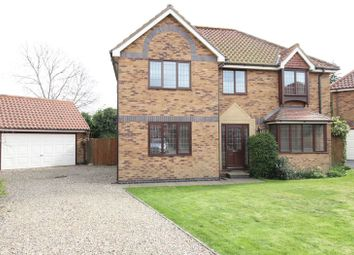 Thumbnail 4 bed detached house to rent in Westwood Gate, Beverley