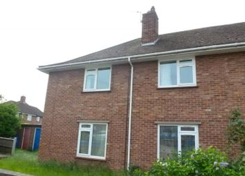 Thumbnail 2 bed flat to rent in Hemlin Close, Norwich