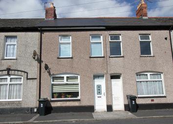 Thumbnail 3 bed terraced house for sale in Portskewett Street, Newport