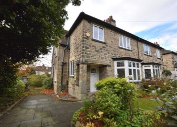 Thumbnail 4 bed semi-detached house for sale in Gledhow Lane, Oakwood, Leeds