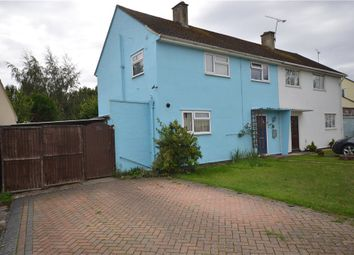 3 bed semi-detached house for sale in Upton Crescent, Basingstoke, Hampshire RG21