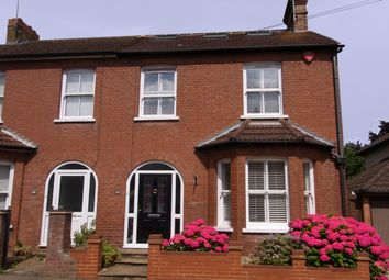 Thumbnail 3 bedroom semi-detached house for sale in Coleswood Road, Harpenden