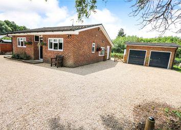 Thumbnail 3 bed detached bungalow for sale in Kimbridge Corner, Kimbridge, Romsey, Hampshire