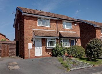Thumbnail 2 bed semi-detached house for sale in Lymore Croft, Walsgrave On Sowe, Coventry