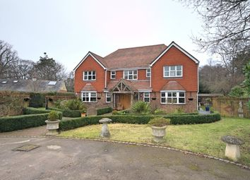 Thumbnail 5 bedroom detached house for sale in West Ashling Road, Hambrook, Chichester