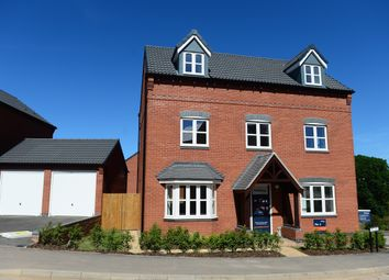 Thumbnail 5 bed detached house for sale in Beeby Road, Scraptoft