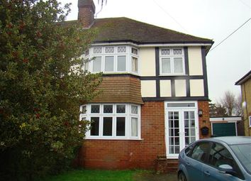 Thumbnail 3 bed semi-detached house to rent in Bramley Avenue, Canterbury