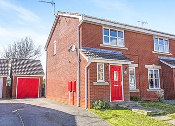 Thumbnail 3 bed semi-detached house to rent in Kestrel Close, Driffield