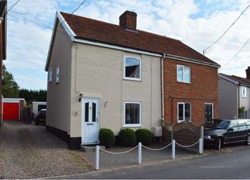 Thumbnail 2 bed semi-detached house for sale in Silver Street, Attleborough