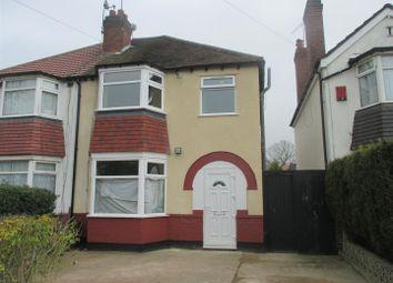Thumbnail 3 bed semi-detached house to rent in Ridgacre Lane, Quinton, Birmingham
