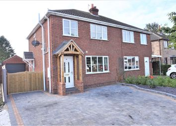 Thumbnail 3 bed semi-detached house for sale in Highfield Road, North Thoresby