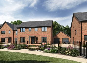 Thumbnail 4 bedroom detached house for sale in Off Caerleon Road, Dinas Powys Cardiff