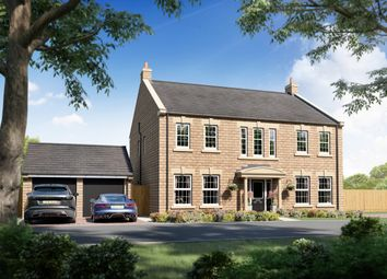 """Thumbnail 5 bed detached house for sale in """"Plot 91 - The Berkhamsted"""" at Burn Road, Huddersfield"""