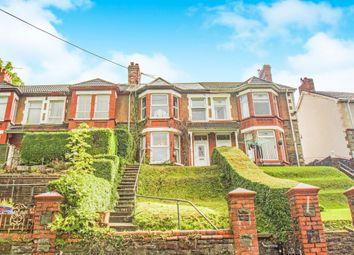 Thumbnail 3 bed terraced house for sale in Caerllwyn Terrace, Ynysddu, Newport