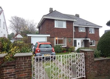 Thumbnail 3 bed semi-detached house for sale in Penrhyn Avenue, Drayton, Portsmouth