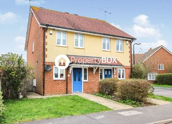 Thumbnail 2 bed semi-detached house for sale in Bramley Way, Angmering, Littlehampton