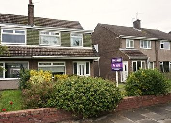 Thumbnail 3 bed semi-detached house for sale in Fulmar Drive, Blyth