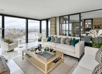 Thumbnail 4 bed flat for sale in The Dumont, Albert Embankment, Lambeth